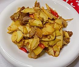 #福气年夜菜#冬笋炒肉片的做法