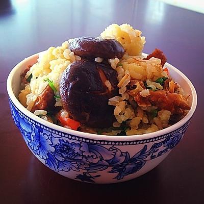 周末懒人美食「香菇黄闷鸡米饭」