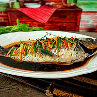 健康饮食----清蒸鲫鱼的做法图解11
