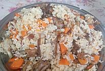 新疆正宗羊肉抓饭的做法
