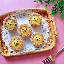#硬核菜谱制作人#萌萌哒小狮子纸杯蛋糕