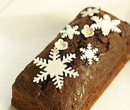 巧克力香橙磅蛋糕的做法