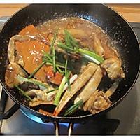 姜葱炒梭子蟹的做法图解10