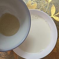 亚麻籽牛奶馒头的做法图解3