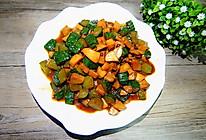 酱香黄瓜杏鲍菇丁的做法