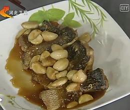 大蒜烧黑鱼的做法