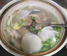 清炖羊排汤的做法