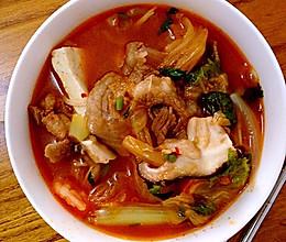 泡菜肥牛汤的做法