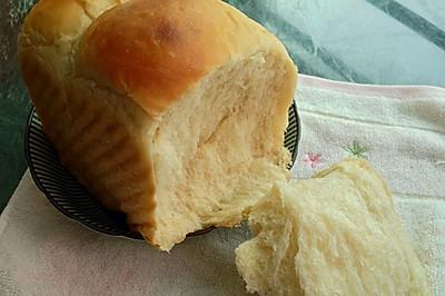 零失败~超软汤种北海道奶香吐司(两个450g的量)