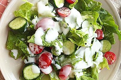 减肥酸奶蔬菜沙拉