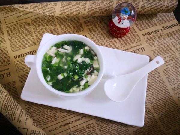白菜豆腐羹