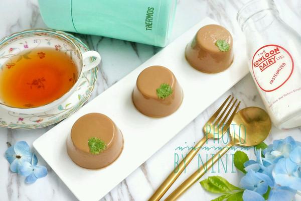 港式奶茶冻#膳魔师南甜主题月#的做法