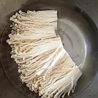 剁椒金针菇的做法图解1
