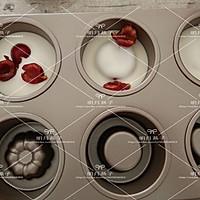 酸奶慕斯(阳晨堡尔美克6连多形模)的做法图解12