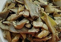 肉炒平蘑的做法