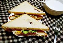 三明治(十分钟快手早餐)的做法