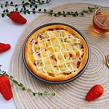 #百变水果花样吃#水果披萨