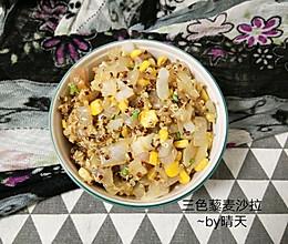 三色藜麦鸡蔬沙拉#硬核菜谱制作人#的做法