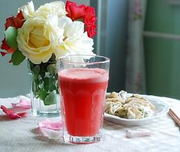 鲜榨西瓜汁的做法