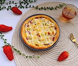 #百变水果花样吃#水果披萨的做法