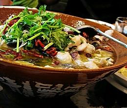 酸菜花鲢鱼片的做法