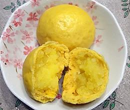 南瓜奶黄包的做法