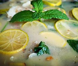 柠檬薄荷鱼的做法