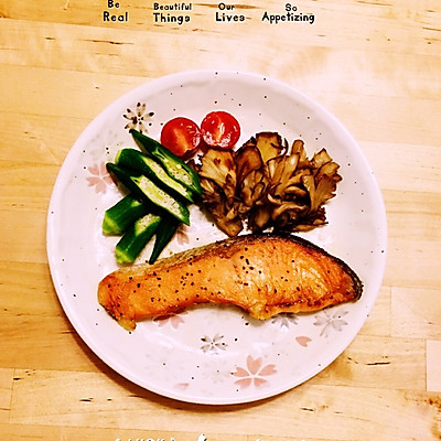 日式香煎三文鱼