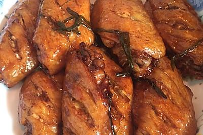 葱香啤酒鸡翅(简易懒人版)