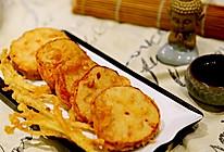 自创菜-天妇罗版-鲜虾藕夹的做法