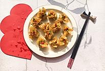 #钟于经典传统味#西洋菜云耳肉丸饺的做法