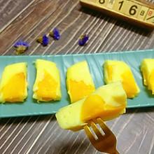 #麦子厨房#美食锅出品辅食:黄桃酸奶糕
