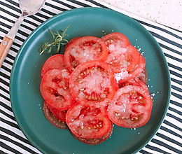 #以美食的名义说爱她#糖拌西红柿的做法