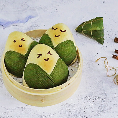 """""""粽子君""""面包"""