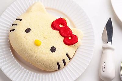 小朋友超爱的Hellokitty酸奶戚风蛋糕