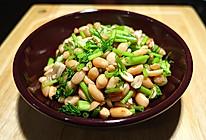 #茴香三吃#茴香杆拌花生米、茴香炒鸡蛋、茴香煎饼的做法