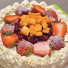 简单的水果生日蛋糕