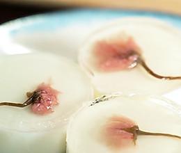 樱花酸奶冻的做法