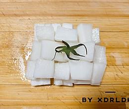【韩式炸鸡必备‼️】韩式酸甜萝卜块❗️的做法