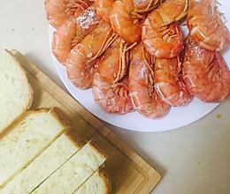 盐焗虾(平底锅版本)的做法