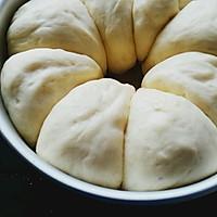 超柔软的牛奶面包~手揉版的做法图解5
