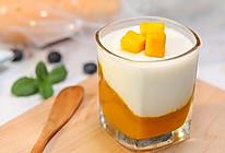 免烤甜品芒果布丁杯,香甜可口,让你清凉度夏的做法