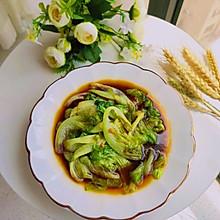 清炒生菜(做法简单2分钟搞定)#我们约饭吧#