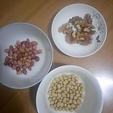 花生核桃豆浆