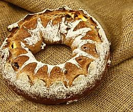 王冠奶酪天然酵母面包制作教程