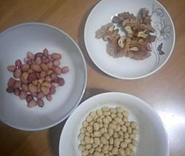 花生核桃豆浆的做法
