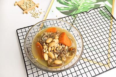 #母亲节,给妈妈做道菜#土伏苓扁豆猪排骨汤