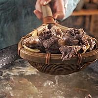 榴莲壳炖煲鸡汤的做法图解6