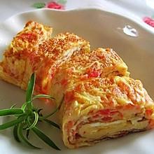 西红柿与鸡蛋的另一做法——西红柿厚蛋烧
