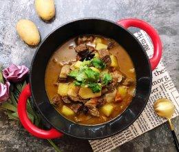 #快手又营养,我家的冬日必备菜品#牛腩番茄汤的做法